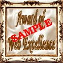 Sample of Our Web Excellence Award
