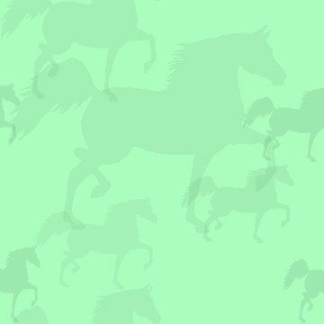 #5C - Green Horse Background
