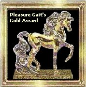 Pleasure Gait's Gold Award